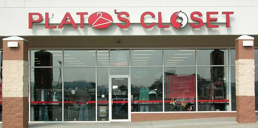 platos closet storefront Platos Closet | Brand Name, Slightly Used Clothing on Consignment