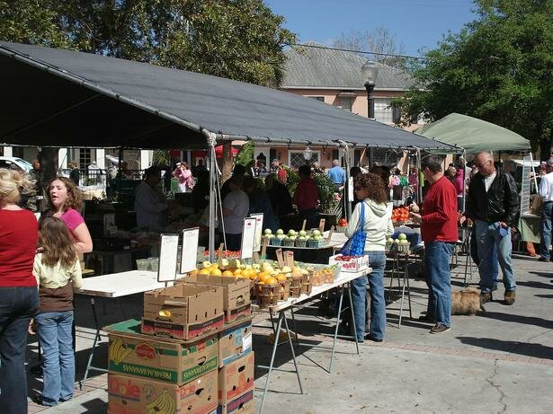 Winter Park Farmers Market 4 sized 1 Inexpensive Things To Do In Orlando: Year of the Staycation