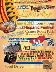 Hispanic Festival Free and Cheap Things To Do This Weekend in Orlando 11/2   11/4, 2012